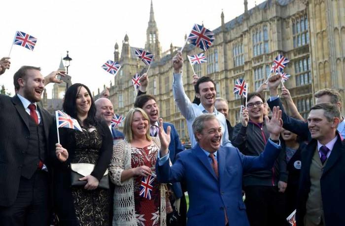 Union Jacks Flutter Over a Widening Gyre